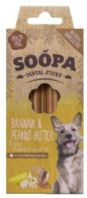 Soopa - Banana & Peanut Butter Dental Sticks